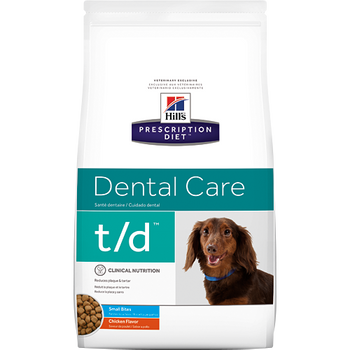 Hill's Canine t/d Small Bites (5 lb. Dry)