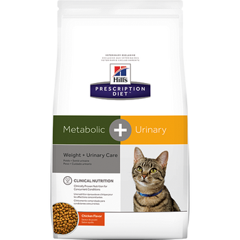 Hill's Feline Metabolic + Urinary Care Chicken Flavor (12 lb.)