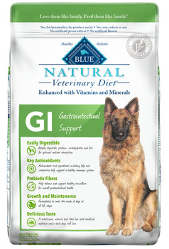 BLUE Natural GI Gastrointestinal Support Canine Dry (22 lbs)
