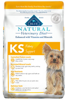 BLUE Natural KS Kidney Support Canine Dry (22 lbs)