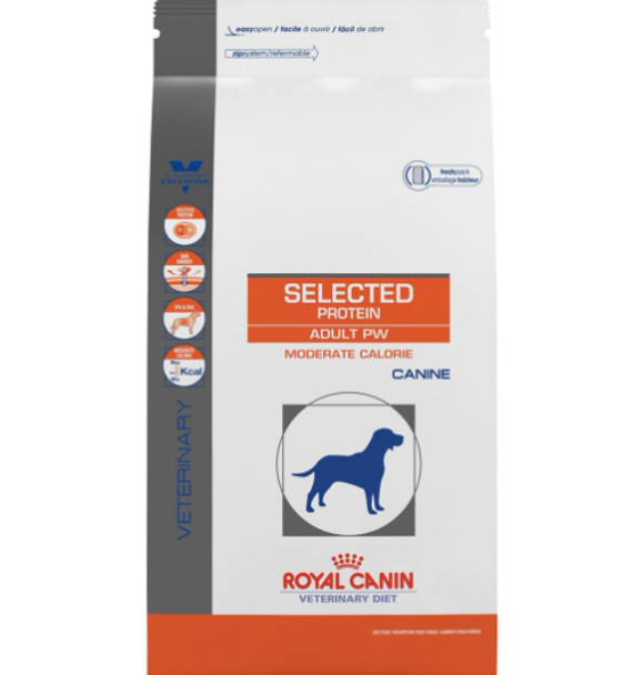 royal canin hypoallergenic  Royal Canin K9 Selected Protein PW Whitefish Mod. Calorie (24.2 lb ...