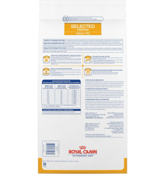 Royal Canin Feline Selected Protein PD Back