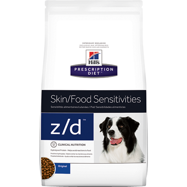 Hill's Canine z/d (25 lb. Dry)