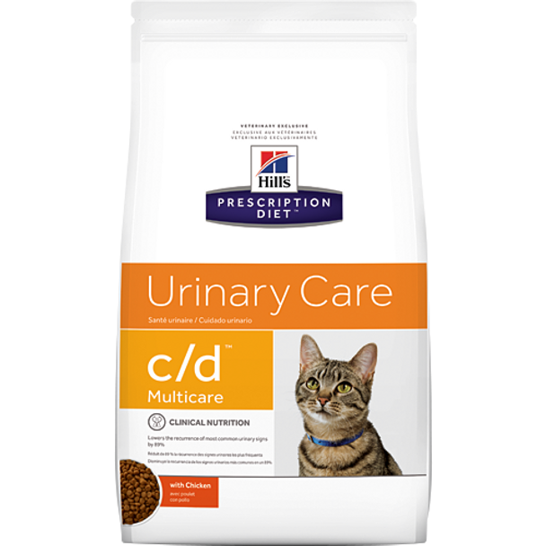 Hill's Feline c/d Multicare with Chicken Urinary Tract Health (8.5 lb. Dry)