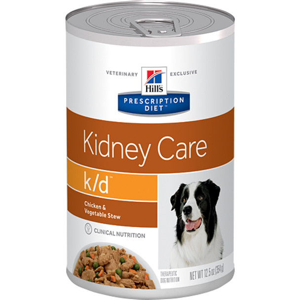 Hill's Canine k/d Chicken & Vegetable Stew (12 x 12.5 oz. Cans)