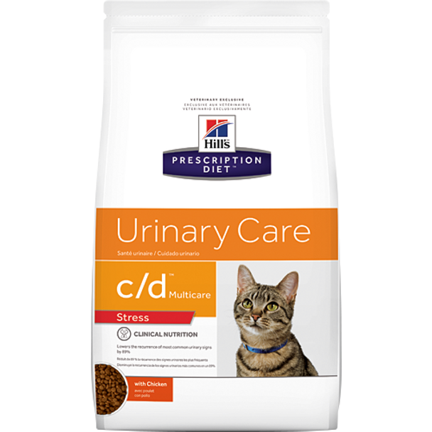 Hill's Feline c/d Urinary Stress with Chicken (13 lb. Dry)