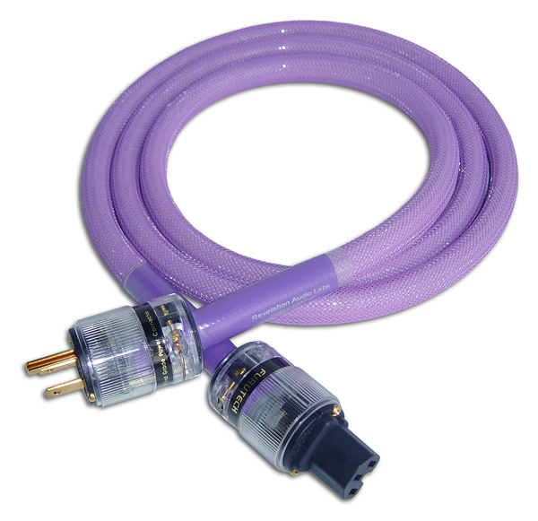 Revelation Audio Labs Precept II Cryo-Silver™ Reference A/C Mains cable at True Audiophile