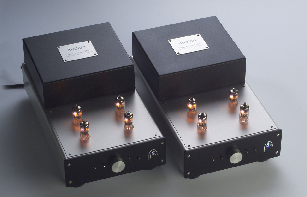Audion Quattro preamplifier. Finest preamp ever made - Arthur Salvatore. Now at True Audiophile. Exclusive U.S. Importer for Audion tube equipment.