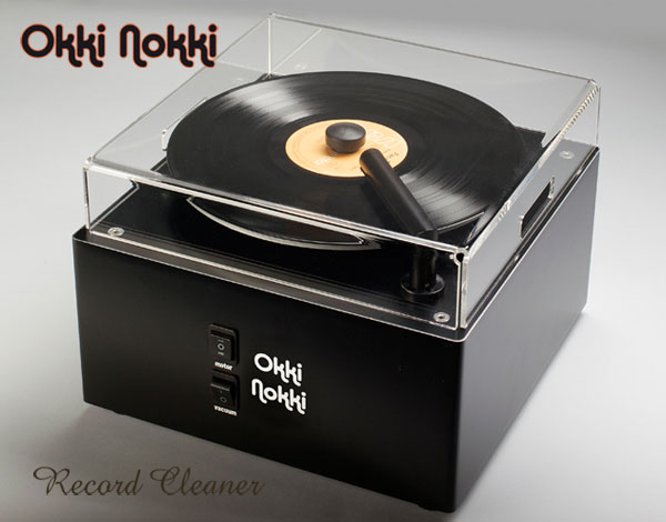 Okki Nokki Record Cleaner MkII. Dust cover sold separately. At True Audiophile