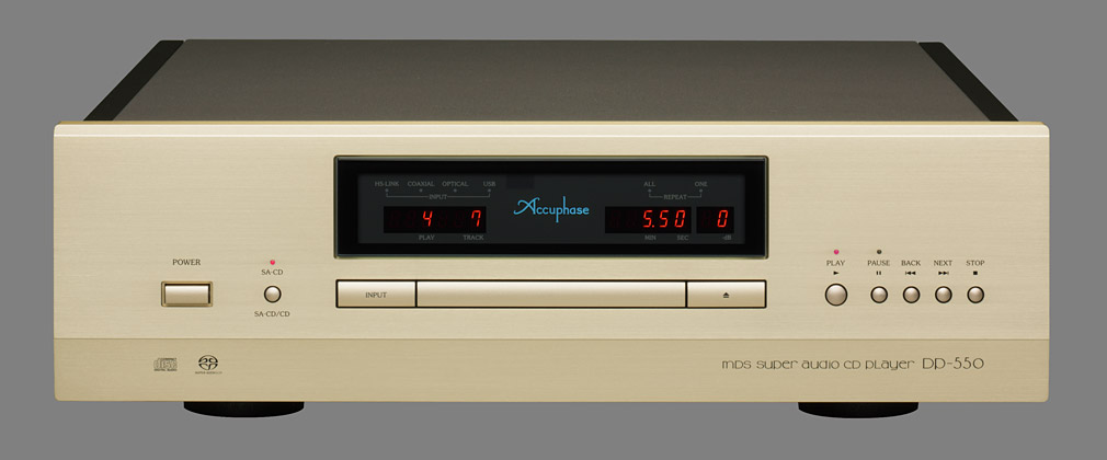Accuphase DP-550 Super Audio CD Player. Elite player