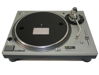 Technics SL 1200 MK3D Factory Refurbished Turntable (A Condition) Silver