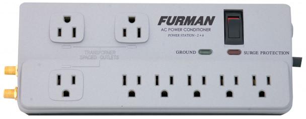 Furman PST-2+6 Power Station Top