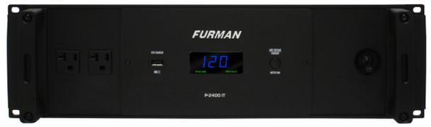 Furman P-2400 IT Front View