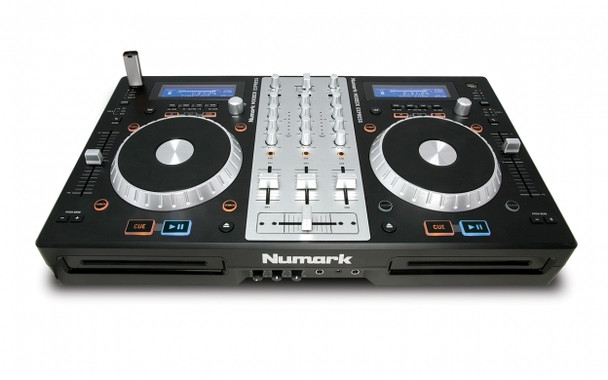 Numark MixdeckExpress 3-Channel DJ Controller with CD & USB Playback