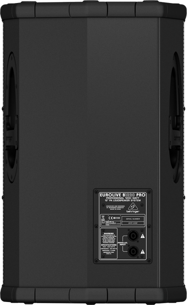 Behringer B1220PRO High- Performance 1,200 Watt 12-inch PA Loudspeaker/Floor Monitor