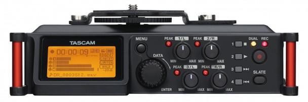 Tascam DR-70D 4-track Portable Recorder for DSLR