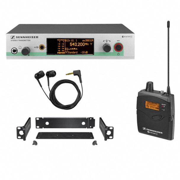 Sennheiser EW300IEMG3-A Wireless In-Ear Monitor System