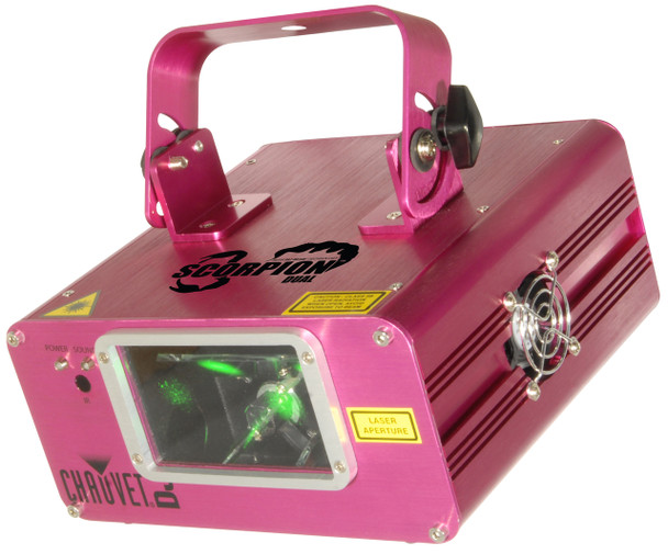 Chauvet DJ SCORPIONDUAL 32 Built-In Patterns Special Effects Lighting