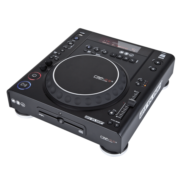 Reloop RMP-2.5-Alpha Table Top Cross Media Player - Black