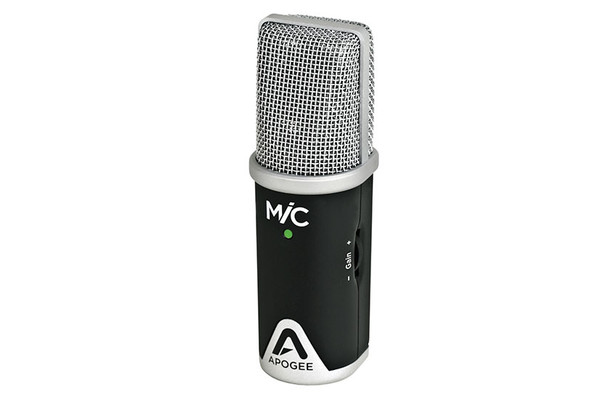 Apogee Professional Microphone for Garageband on IPad, IPhone and Mac