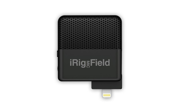 IK Multimedia iRig Mic Field Stereo condenser Microphone for iPhone and iPad