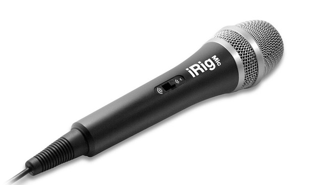 IK Multimedia iRig Mic for iPhone, iPod Touch and iPad