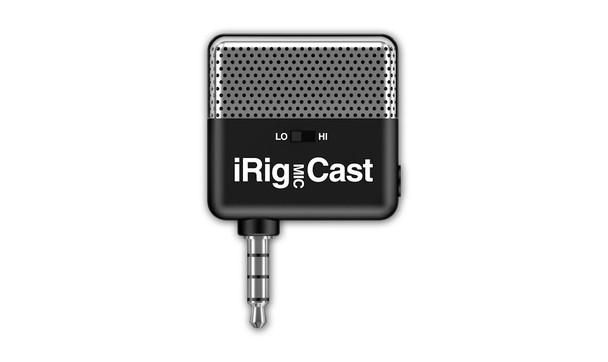 IK Multimedia iRig Mic Cast Podcasting Mic for Smartphones & Tablets