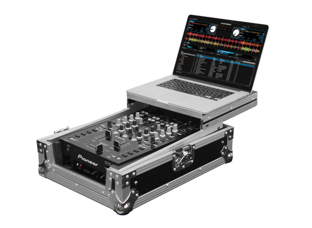 Odyssey FZGS10MX1 Universal 10-inch DJ Mixer Low Profile (1-Tier) Glide Style Case