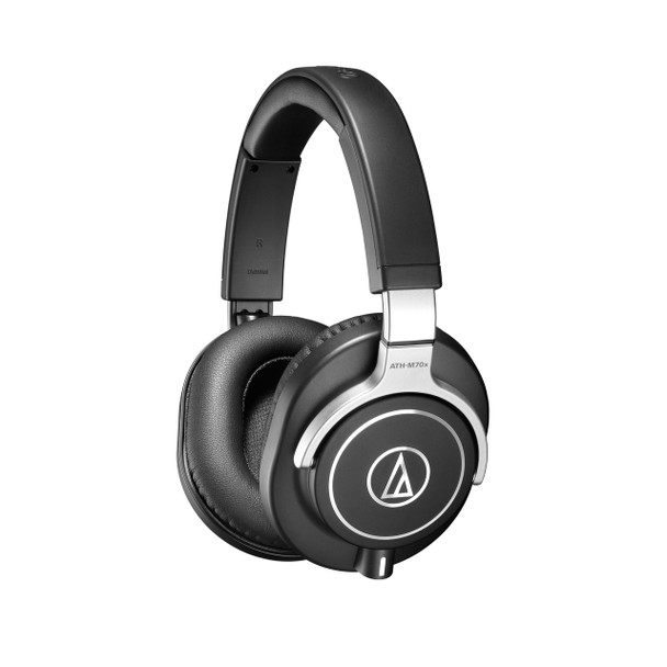 ATH-M70X Closed-Back Professional Monitor Headphones & Detachable Cables