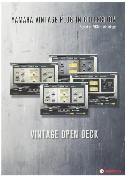 Steinberg 502015072 Vintage Open Deck Analog Tape Software Plug-in (VST3/VST2.4/AU)