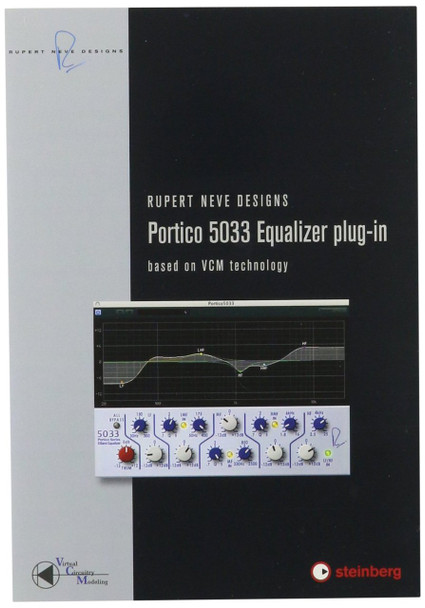 Steinberg 502015050 RND Portico 5033 EQ Audio Plug-in