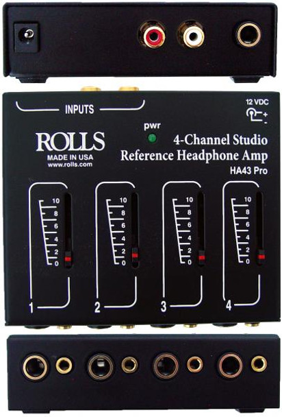 HA43 Pro 4 Ch Headphone Amplifier