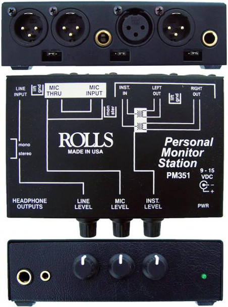 PM351 Personal Monitor Station