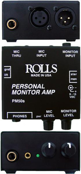 PM50s Personal Monitor Amp