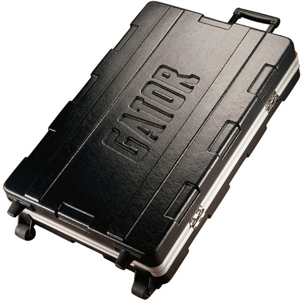 G-MIX-20x30 Rolling ATA Mixer Case w/Lockable Recessed Latches & Pull-out Handle