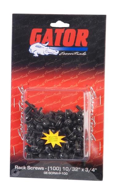 Gator Cases GRW-SCRW025 Rackworks 10/32-inch x 3/4-inch Rack Screw (25 Pack)