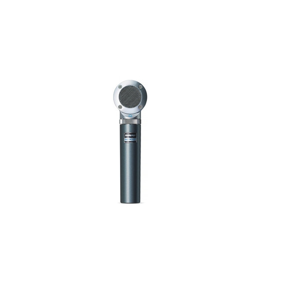 Shure BETA 181/BI Figure 8 Compact Side-Address Instrument Microphone