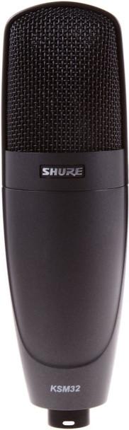 Shure KSM32/CG Studio Condenser Microphone - Charcoal Gray