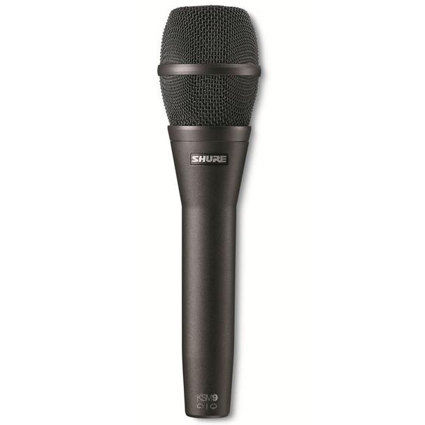 Shure KSM9/CG Cardioid & Supercardioid Handheld Condenser Microphone - Charcoal Gray