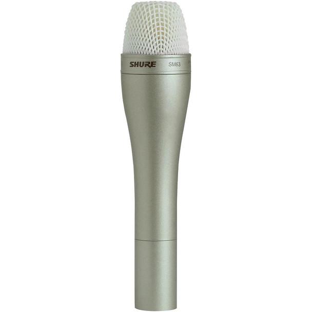 Shure SM63 Omnidirectional Dynamic Microphone