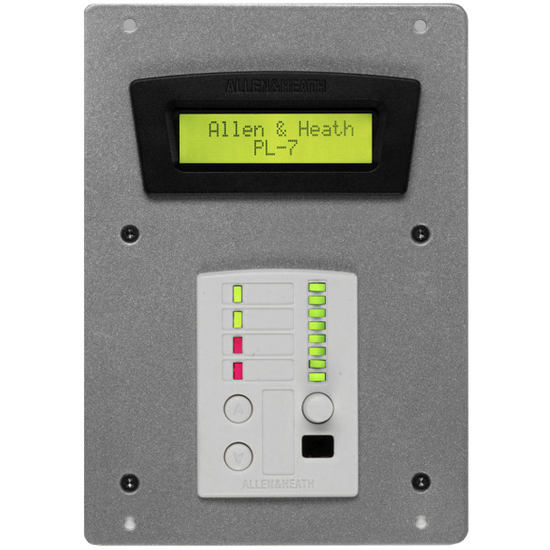 AH-PL-7-4 2 Switch LED Wall Plate with PL4 Included for IDR