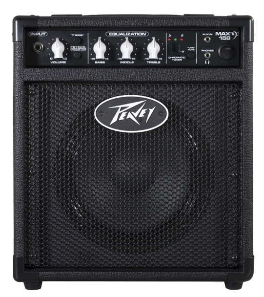 Max 158 Bass Amplifier