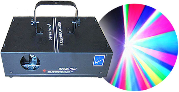 Big Dipper B2000 + RGB Multi-Color Laser Display System