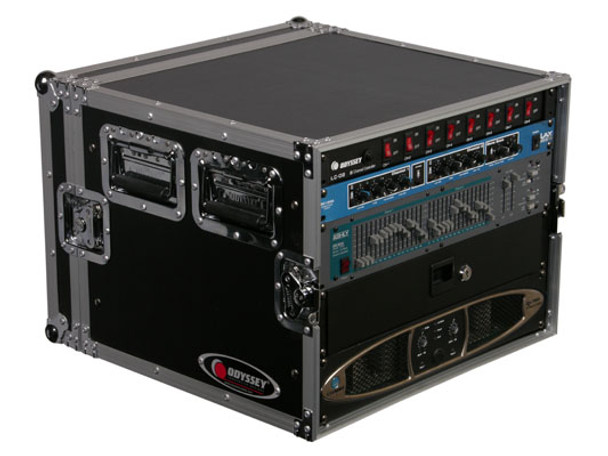 Odyssey FRAR8E 8U Amp Rack Flight Case
