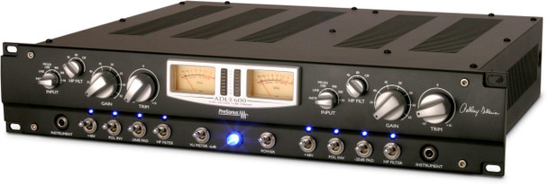 ADL 600 2-Channel High Voltage Tube Mic Preamp