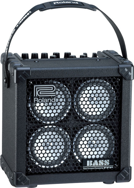 Roland Battery Powered stereo Bass Amp w/ COSM, FX, tuner & Rhythm Guide