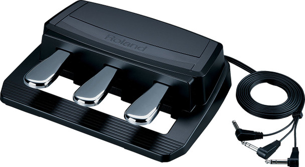 Roland Universal 3 Pedal Unit with 3 separate 1/4-inch Jacks