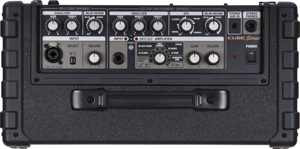 Roland 2-Cube Street, Cables and Carry Bag