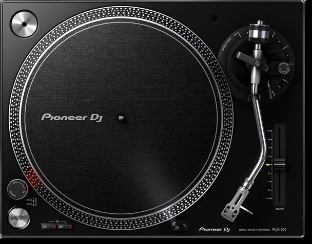 Pioneer PLX-500-K Direct Drive Turntable (Black)