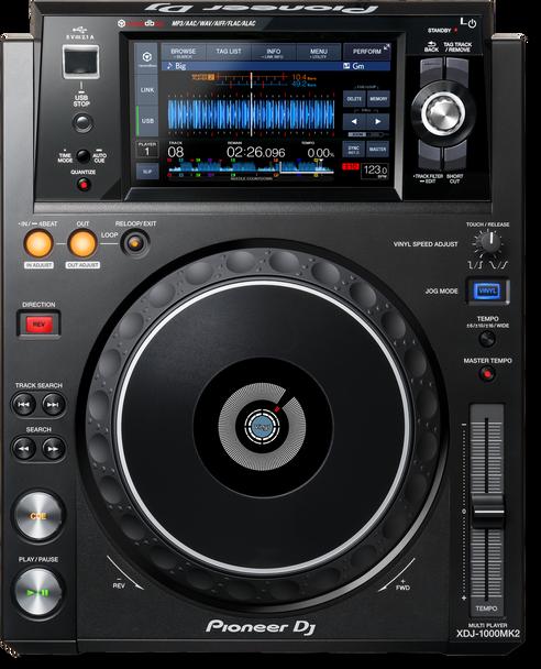Pioneer XDJ-1000MK2 Performance Digital Multi Player - 7-inch Touchscreen